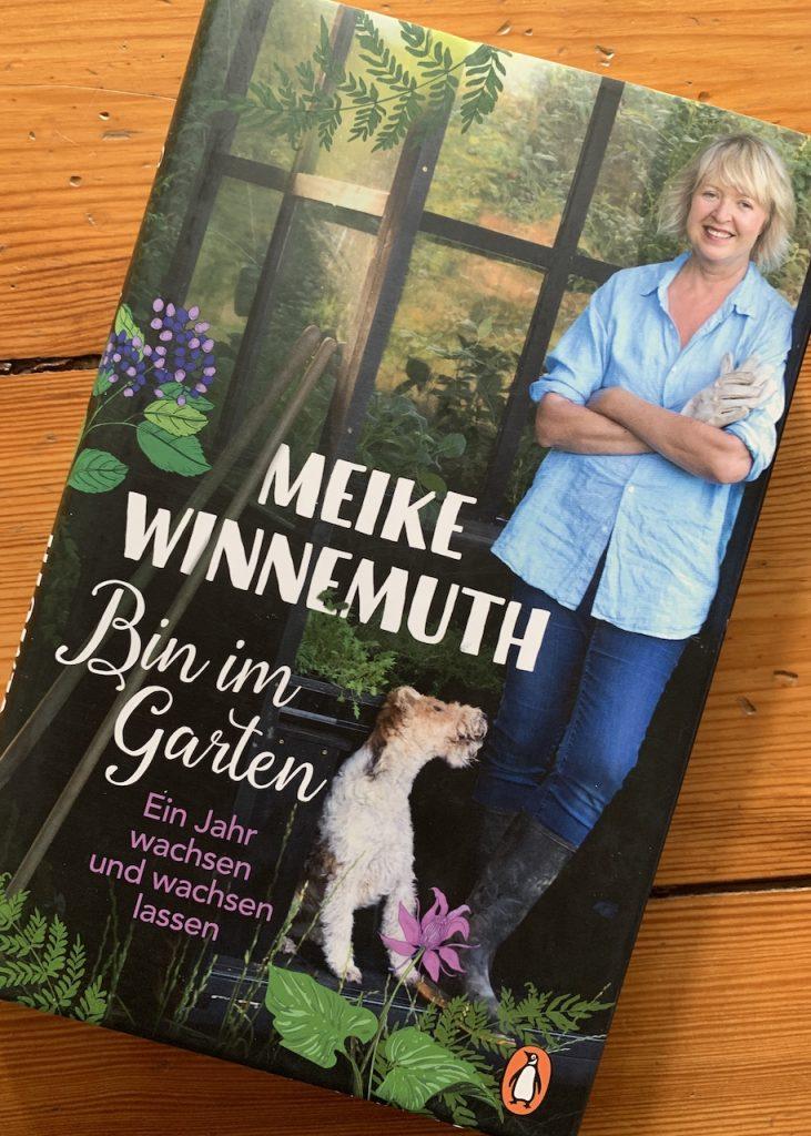Buch Bin im Garten