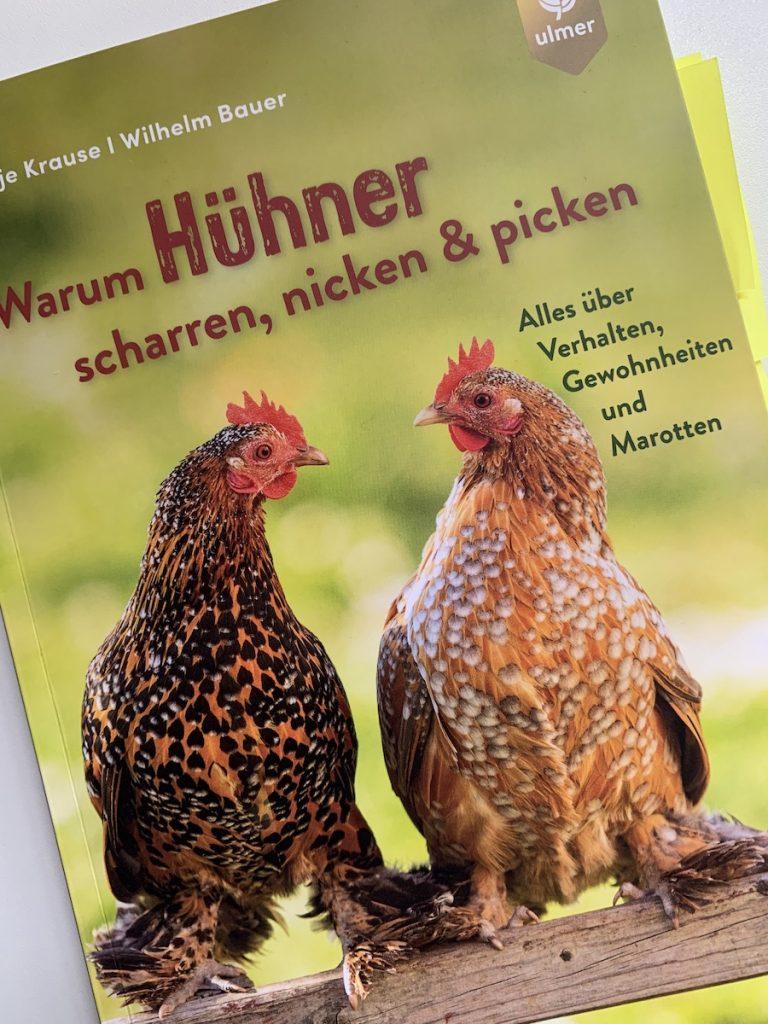 Titelseite des Buchs über Hühner